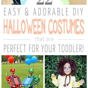 22 DIY Toddler Halloween Costumes