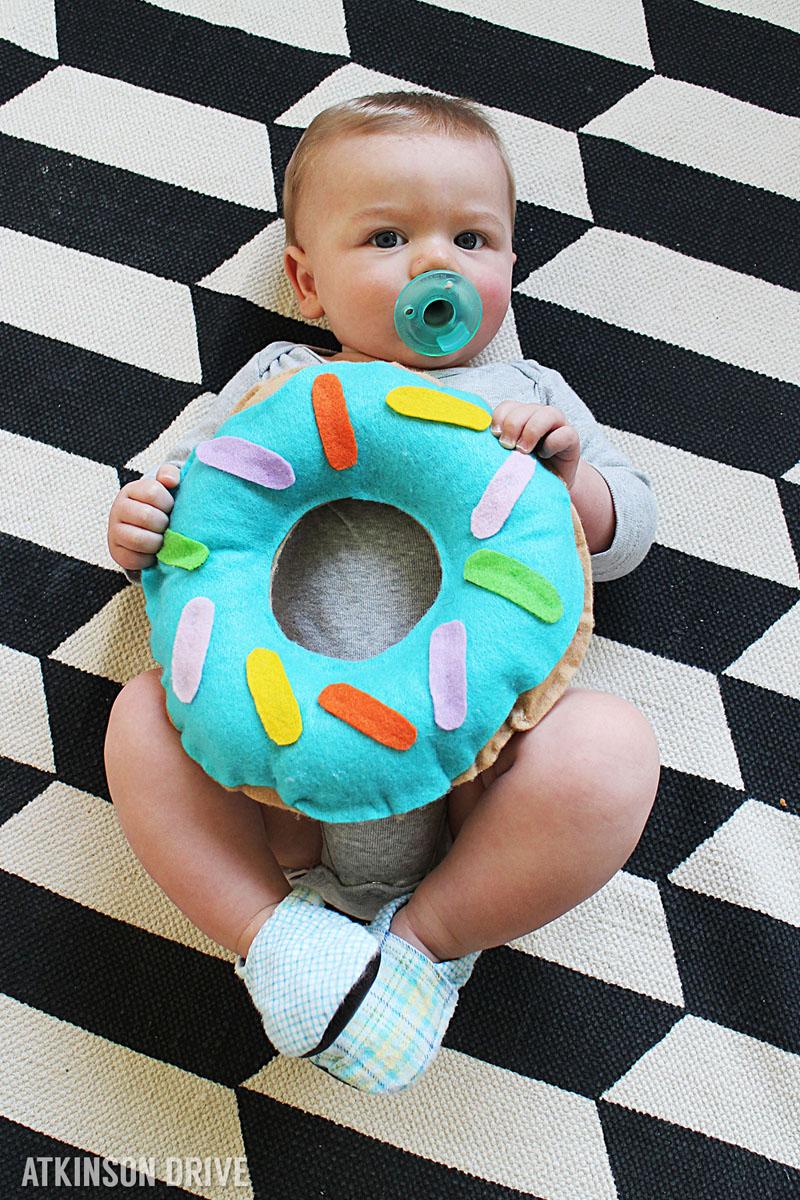 baby donut costume