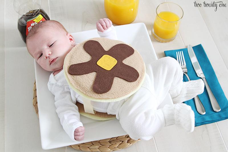 baby pancake costume