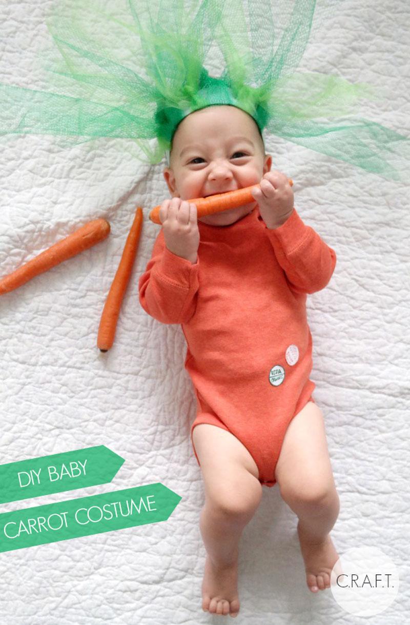 diy baby carrot costume