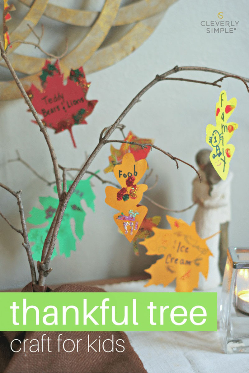 Thankful Tree Craft For Kids