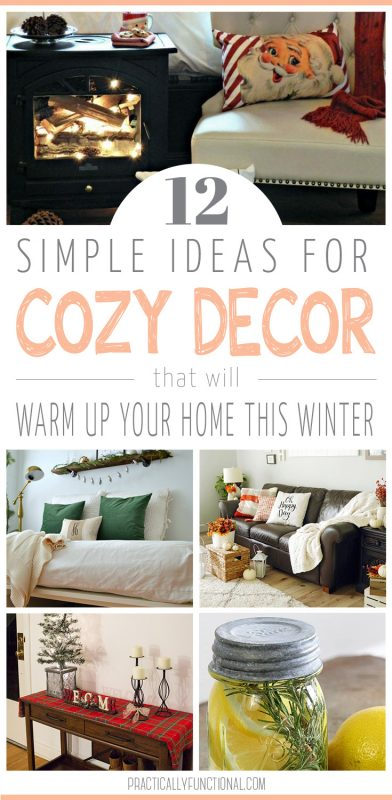 12 simple cozy decor ideas for winter