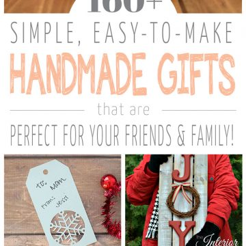 160+ Handmade Gift Ideas