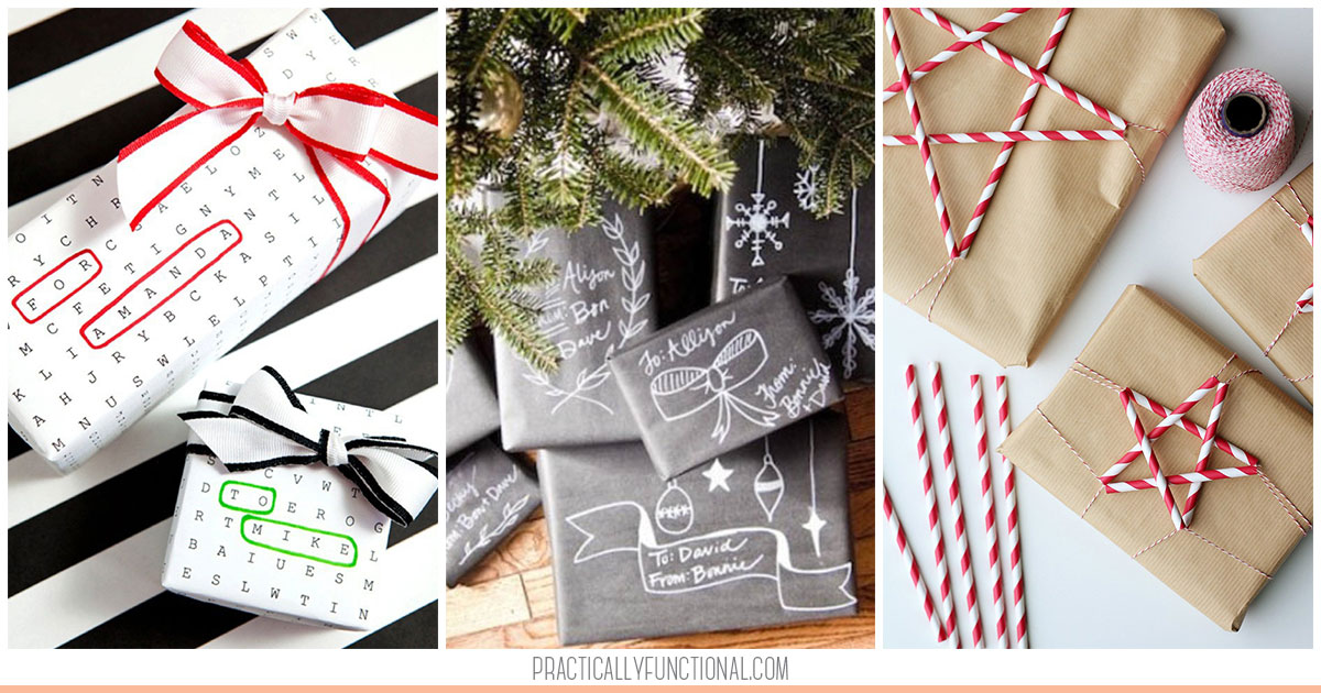 20 creative gift wrapping ideas for christmas negle Images