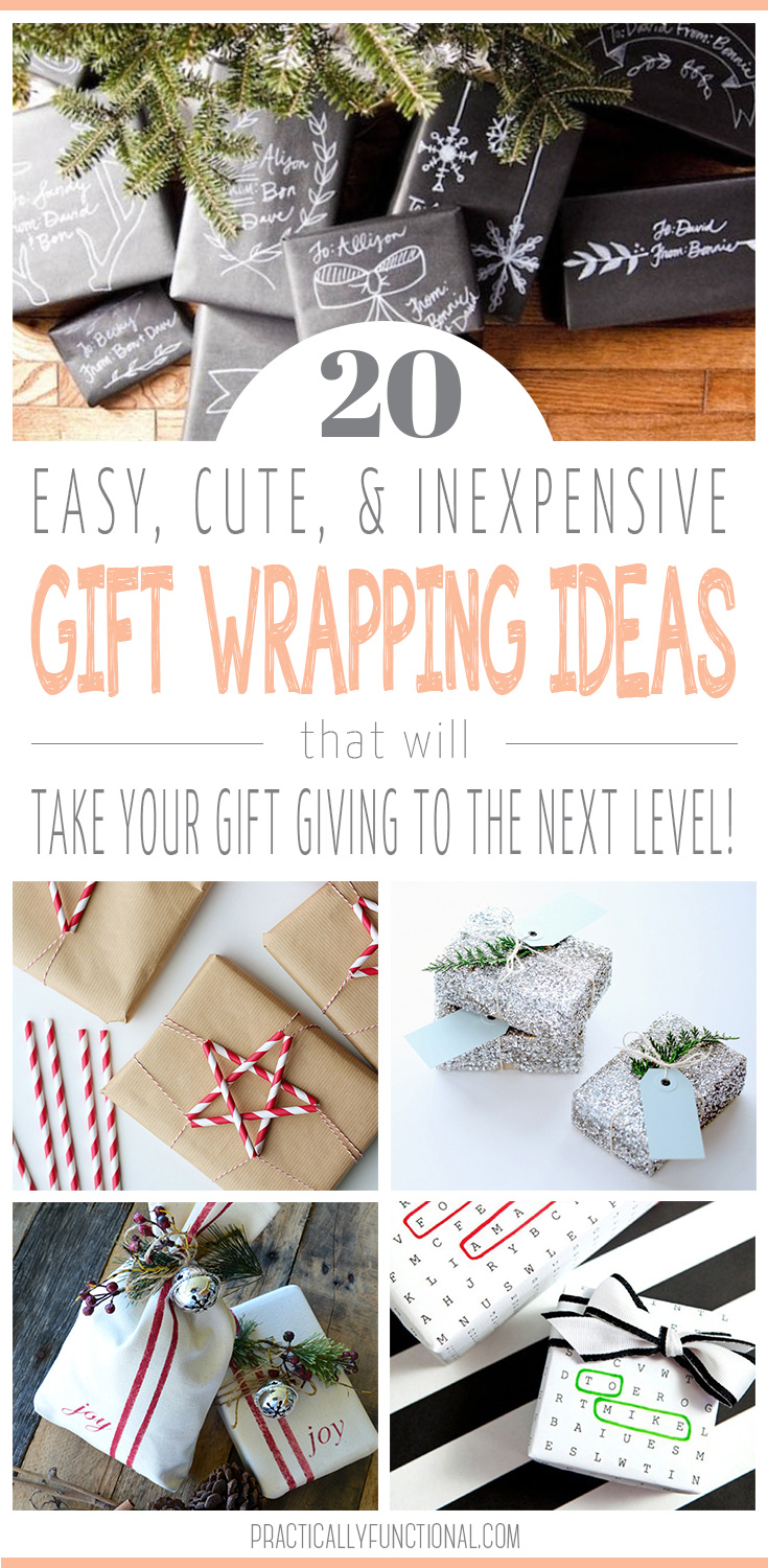 20 creative gift wrap ideas for Christmas