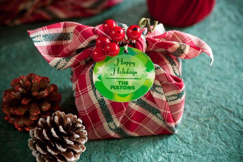 Japanese Furoshiki gift wrap