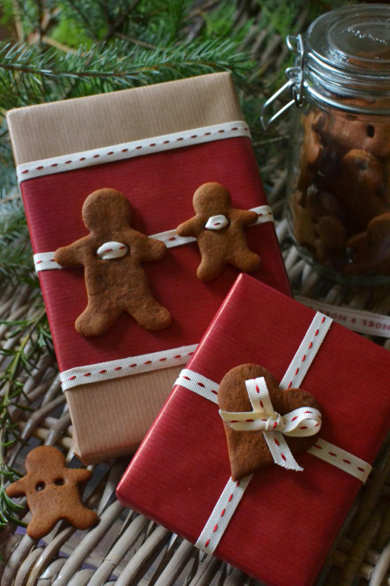 edible gift wrap idea