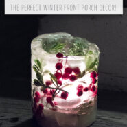 How to make ice lanterns or ice candles