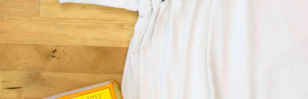 how to clean yellow sweat stains