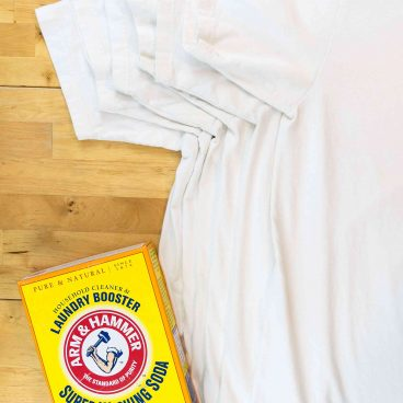 how to remove yellow sweat stains