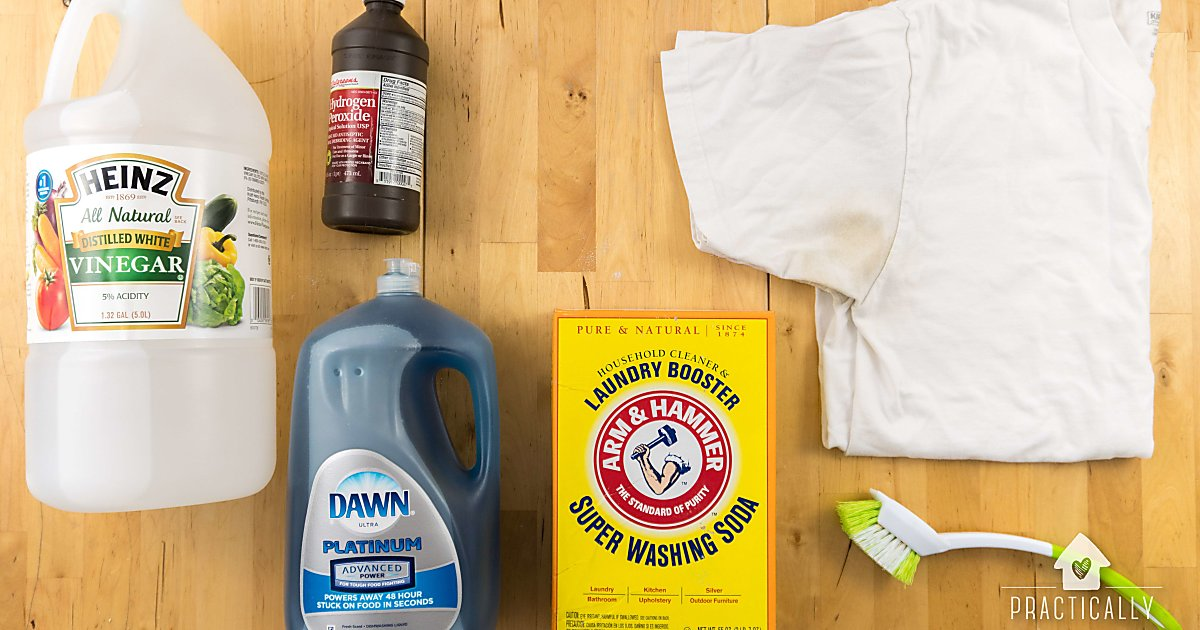 Cleaning Yellow Stains From Heirloom Cotton Baby Clothes