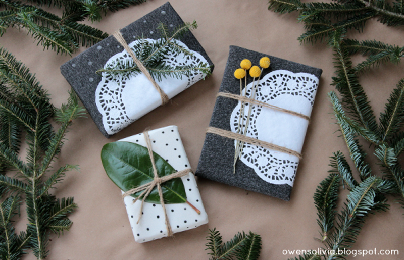 leggings or pantyhose gift wrapping idea