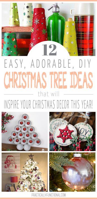 12 Awesome Christmas Tree Ideas