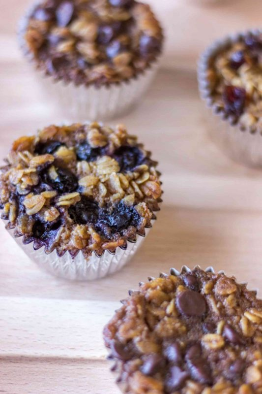 baked oatmeal muffin cup