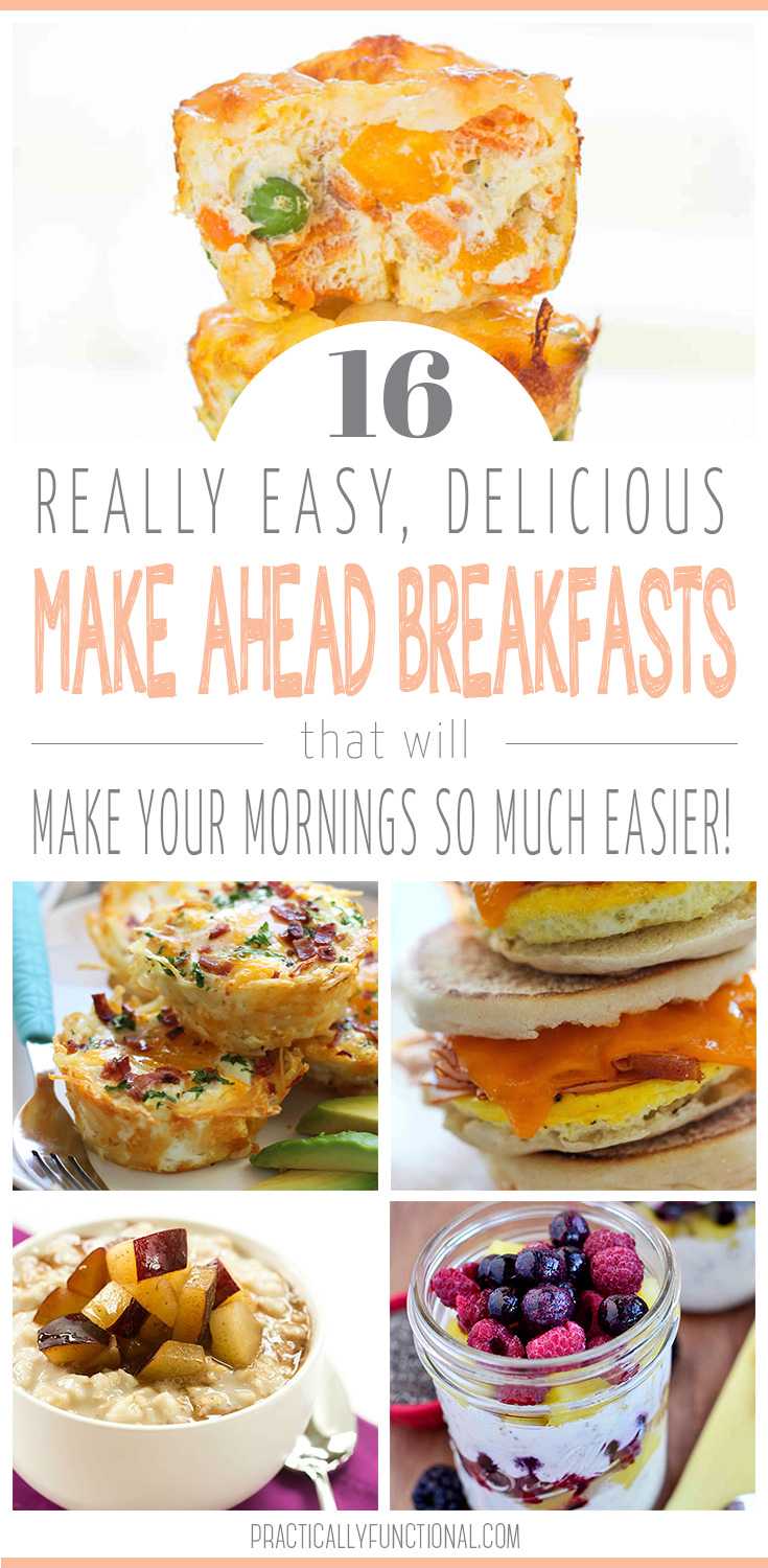 16 Simple Hairstyles For Long Hair: 16 Easy Make Ahead Breakfast Ideas