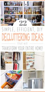 22 Simple Ways To Declutter Your Home