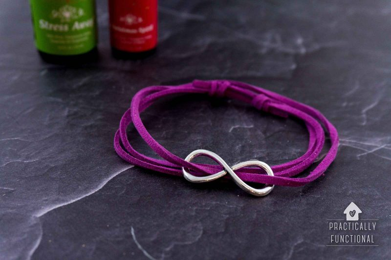 5 minute diy essential oil diffuser bracelet