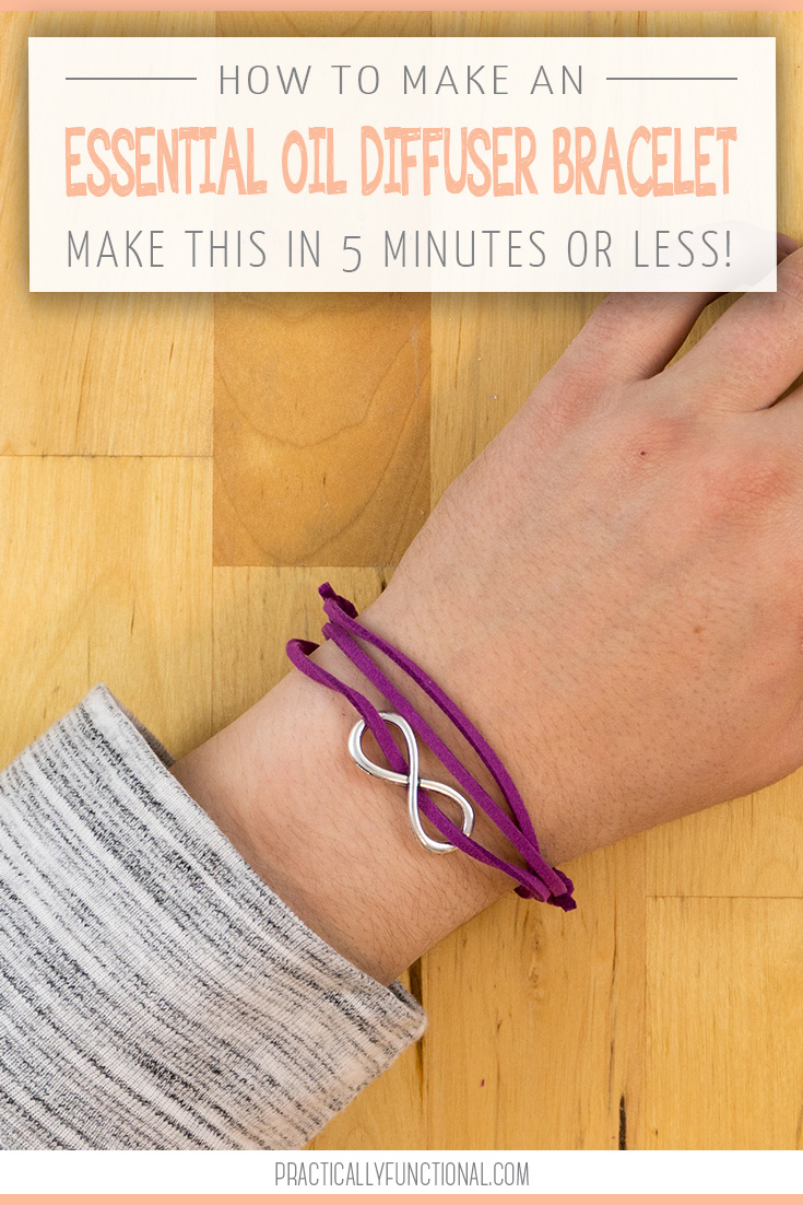 5-minute diy essential oil diffuser bracelet