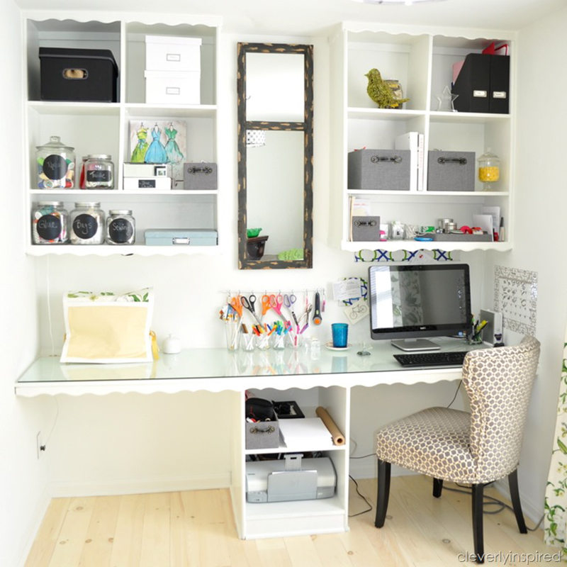 Create a multifunctional work space in an office
