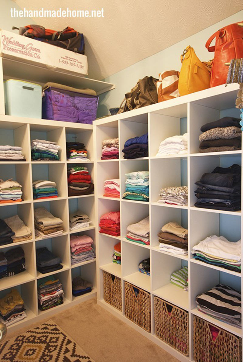 how to organze a closet