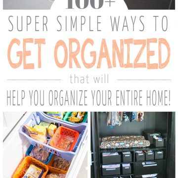 100 clever organizing tricks for the new year
