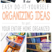 12 easy DIY ideas to organize your house