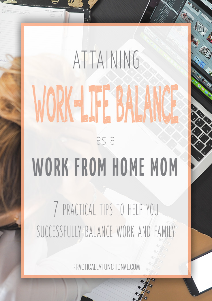 The question every mom out there wants answered: can you work from home and have work life balance? These tips can help you achieve that precious balance as a work at home mom!