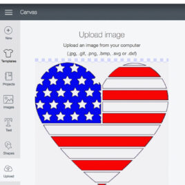 Learn how to upload a jpeg or svg file to Cricut Design Space