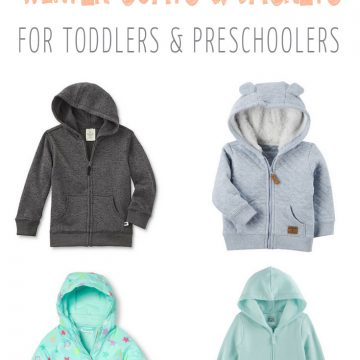 My Favorite Winter Coats for Toddlers and Preschoolers