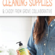 Free mrs. meyers cleaning products caddy from grove collaborative 2