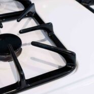 How to clean stove top grates without scrubbing