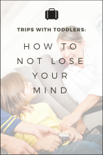Trips With Toddlers: How to Not Lose Your Mind