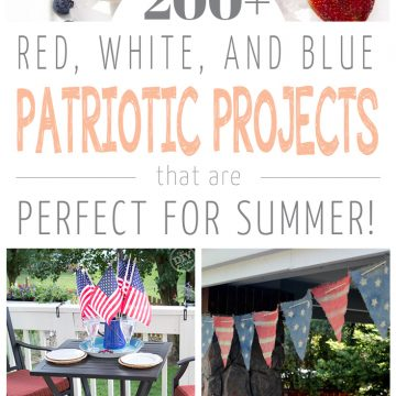 200+ Red, White, & Blue DIY Projects!