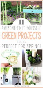 All Things Green: 11 Creative Green Ideas!