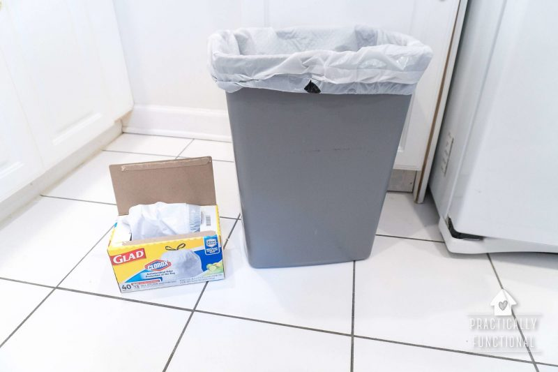Antimicrobial trash bags neutralize odors for spring cleaning