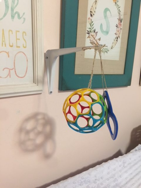 DIY Wall Mounted Baby Mobile Tutorial