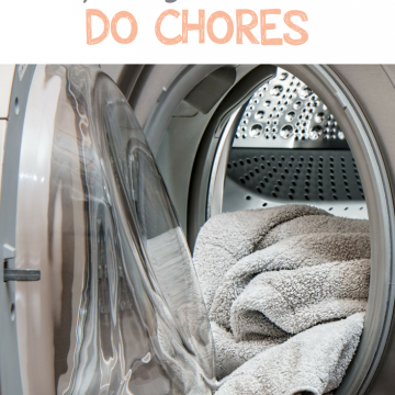 Yes, Your 3-Year-Old CAN Do Chores!