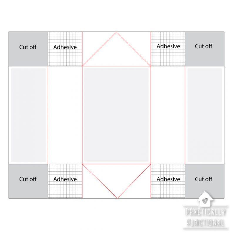Fancy fold box card base