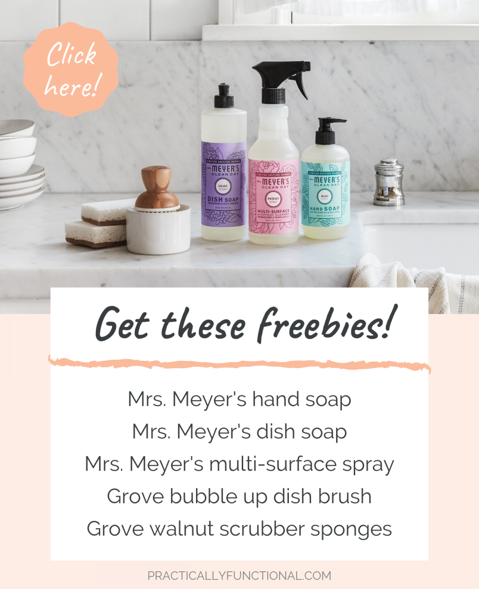 Free mrs. meyers cleaning products from grove collaborative