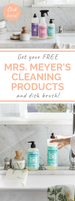 Get your free mrs. meyers spring scent cleaning products from grove collaborative