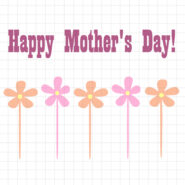 Happy mothers day flowers svg cut file