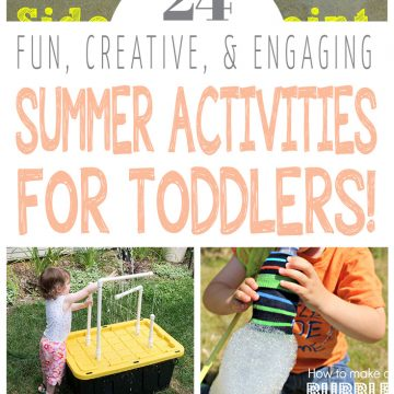 24 Super Fun Summer Activities For Toddlers!