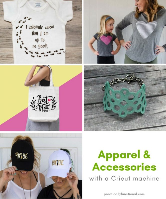 Diy apparel and accessories with a cricut