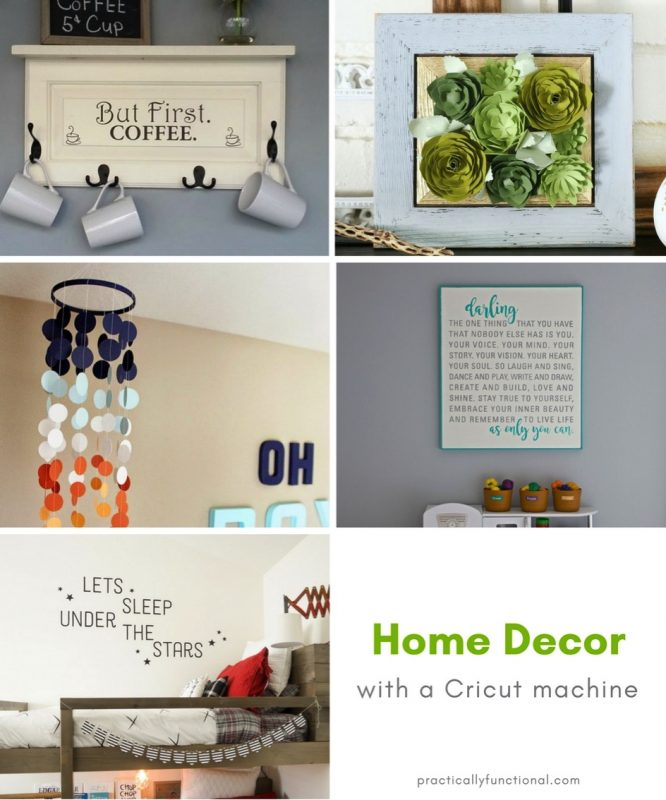 Diy Home Decor Projects With A Cricut