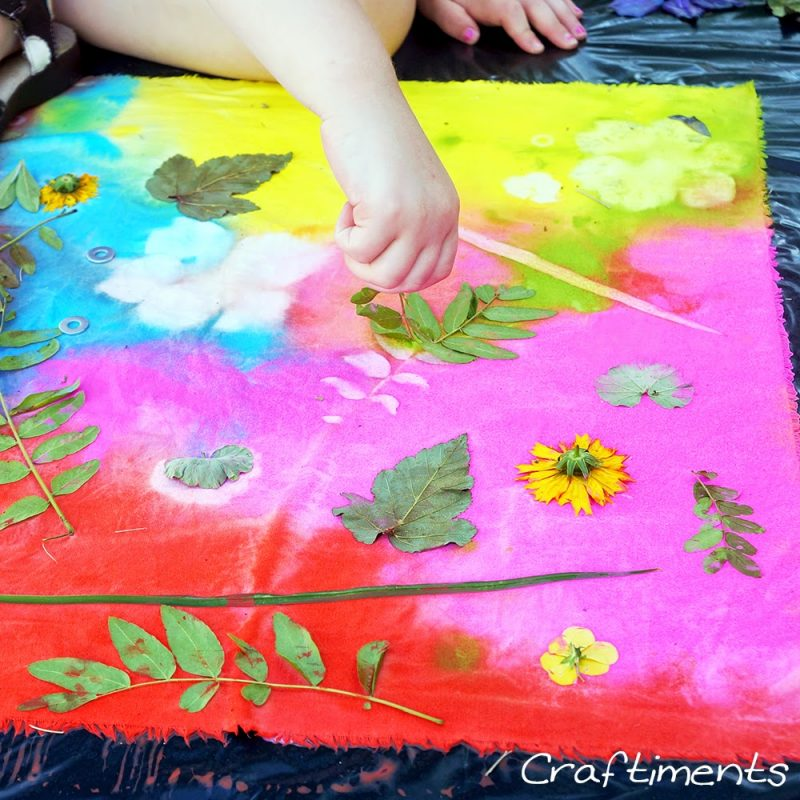 Acrylic paint sun prints and 23 other fun summer activities for toddlers
