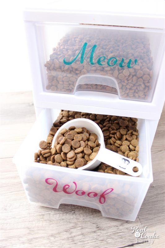 Diy pet food organization and 25 other simple diy pet projects anyone can do