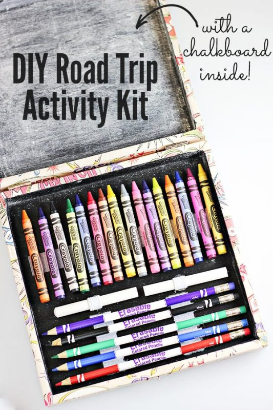 Diy road trip activity kit and 23 other fun summer activities for toddlers