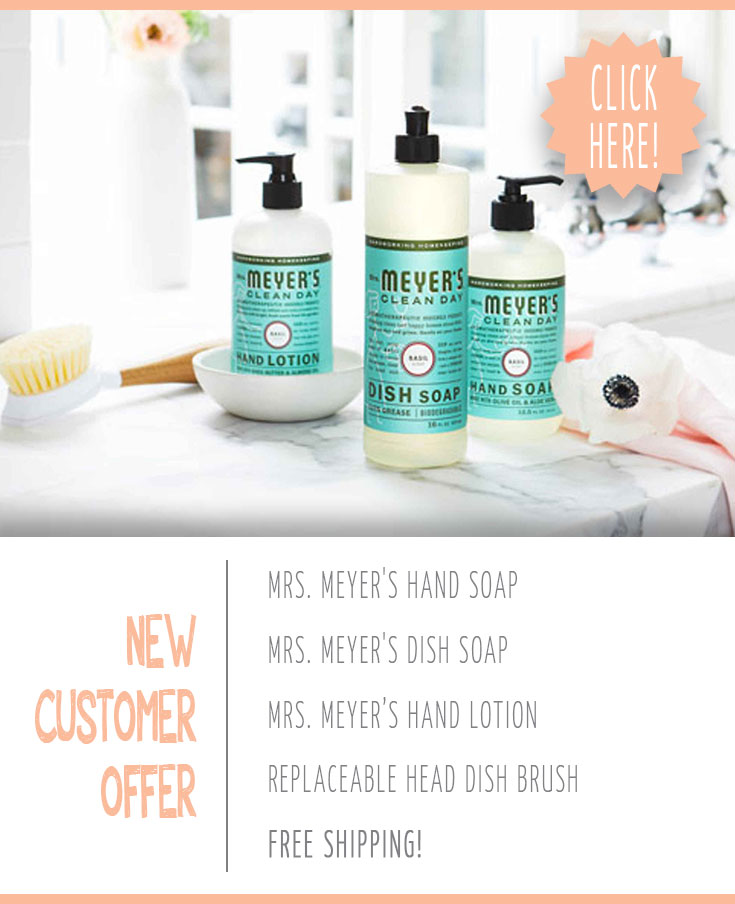 Get ready for summer with free mrs. meyers cleaning products from grove collaborative practically functional 13