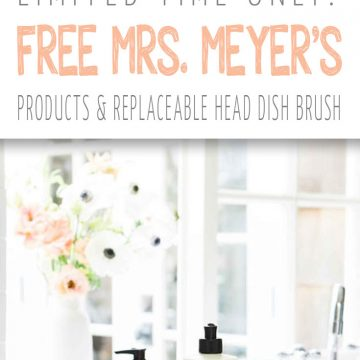 Get Ready For Summer With FREE Mrs. Meyer's Cleaning Products From Grove Collaborative!