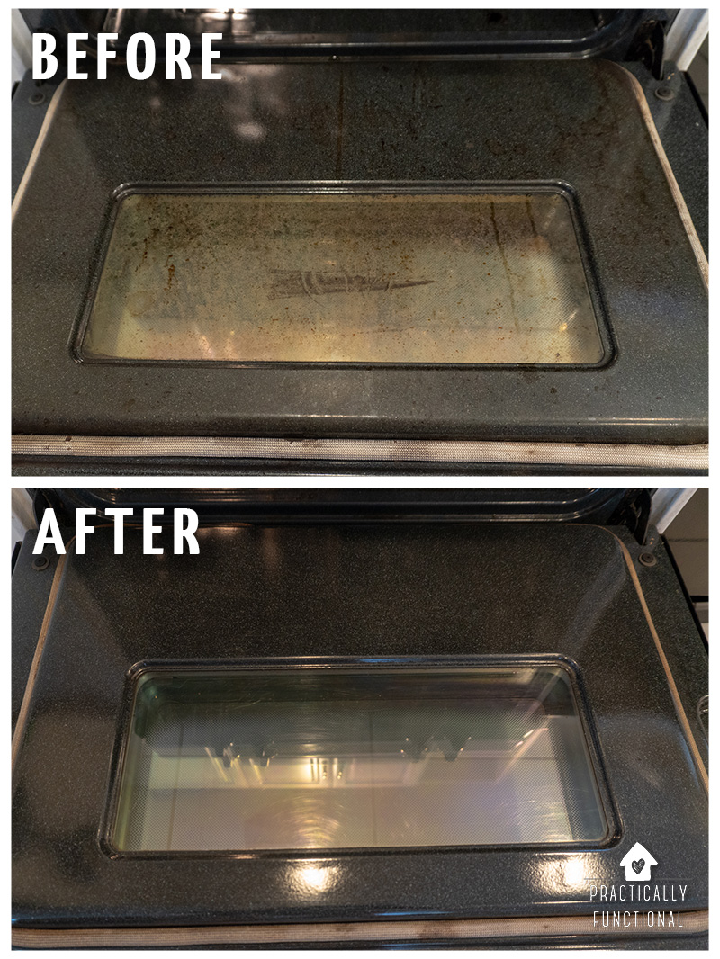 How to clean the inside of an oven using ammonia